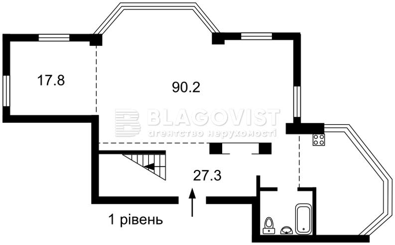 Квартира C-106769, Кловский спуск, 5, Киев - Фото 3