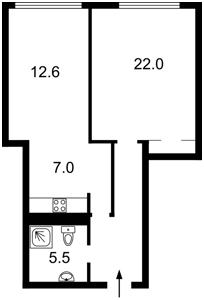 Квартира Саксаганского, 37к, Киев, M-36196 - Фото2