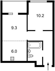 Квартира Тираспольська, 58, Київ, Z-561455 - Фото2