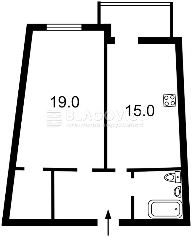 Квартира D-35475, Тютюнника Василия (Барбюса Анри), 51/1а, Киев - Фото 7