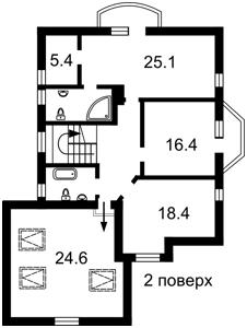 Дом Белогородка, F-40511 - Фото 3