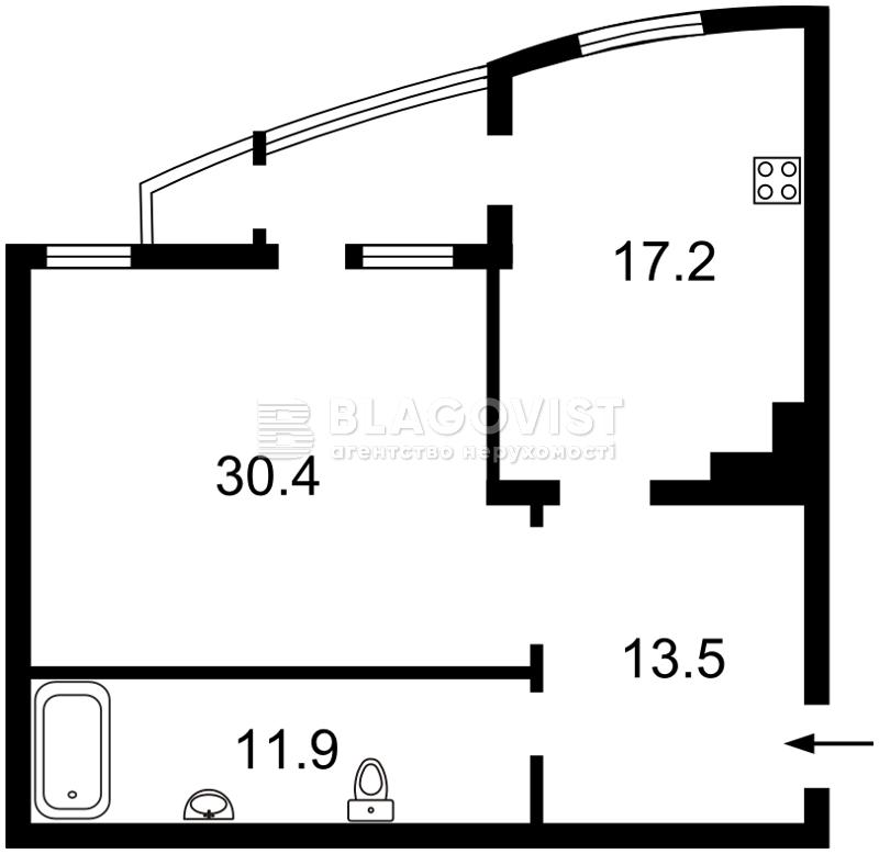 Квартира M-36239, Лесі Українки бул., 7а, Київ - Фото 5
