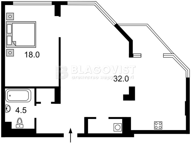 Квартира D-35493, Болсуновская (Струтинского Сергея), 2, Киев - Фото 9