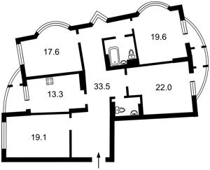 Квартира Днепровская наб., 23, Киев, H-45026 - Фото2