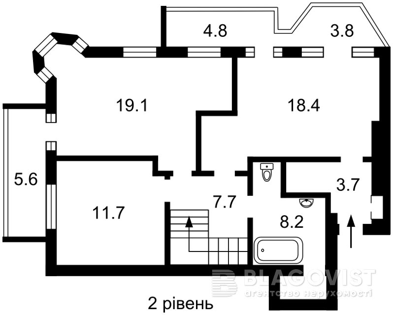Квартира Z-625124, Саксаганского, 26/26, Киев - Фото 4
