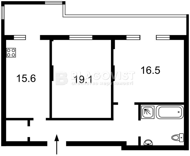 Квартира D-35505, Сковороды Григория, 6, Киев - Фото 7