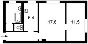 Квартира Большая Васильковская, 92, Киев, Z-1283322 - Фото2