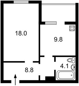 Квартира Урловская, 38, Киев, R-29012 - Фото2