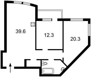 Квартира Голосіївська, 13, Київ, Z-579135 - Фото2