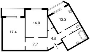 Квартира Яблонської Тетяни, 6, Київ, R-28810 - Фото2