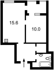 Квартира Регенераторная, 4 корпус 3, Киев, Z-572519 - Фото2
