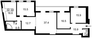 Квартира Ярославов Вал, 17б, Киев, D-35545 - Фото2