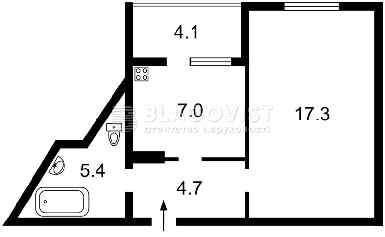 Квартира Z-116217, Чавдар Елизаветы, 34, Киев - Фото 5