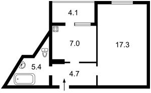 Квартира Чавдар Елизаветы, 34, Киев, Z-116217 - Фото2
