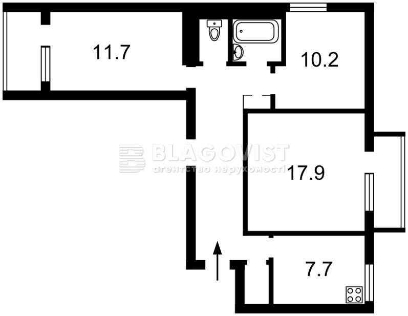 Квартира A-110608, Дегтяревская, 26б, Киев - Фото 2