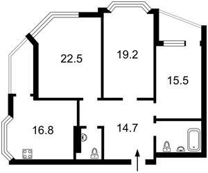 Квартира Урловская, 40, Киев, Z-581238 - Фото2
