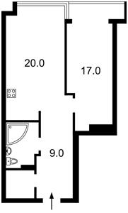 Квартира Липківського Василя (Урицького), 37г, Київ, R-29155 - Фото2