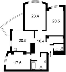 Apartment Heroiv Stalinhrada avenue, 12ж, Kyiv, C-106901 - Photo 2