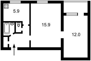 Квартира Леси Украинки бульв., 19, Киев, Z-573515 - Фото2