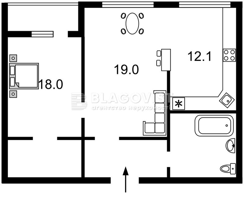 Квартира F-42373, Гавела Вацлава бульв. (Лепсе Ивана), 6/7а, Киев - Фото 3