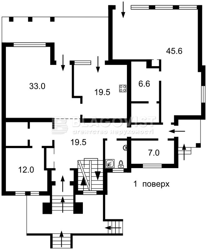 Дом M-36250, Зеленая, Княжичи (Броварской) - Фото 3
