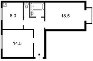 Квартира Очаківська, 8, Київ, R-29269 - Фото2