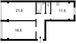 Квартира Шулявська, 15/23, Київ, Z-579913 - Фото2