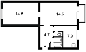 Квартира Донецька, 7, Київ, R-29309 - Фото2