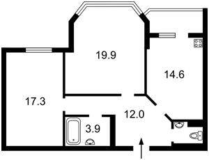 Квартира Княжий Затон, 2/30, Київ, R-29755 - Фото2