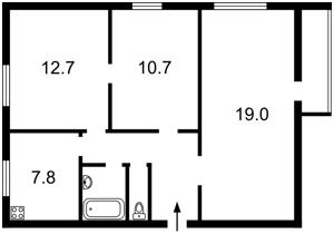 Квартира Маккейна Джона (Кудрі Івана), 20б, Київ, P-4001 - Фото2