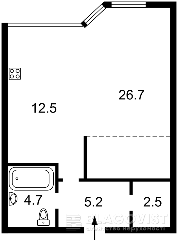 Квартира F-34145, Парково-Сырецкая (Шамрыло Тимофея), 4в, Киев - Фото 7