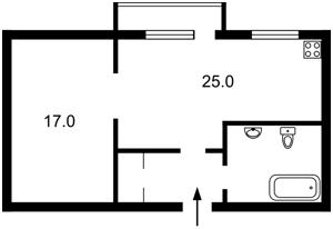 Квартира Потехина Полковника, 3, Киев, Z-581330 - Фото2