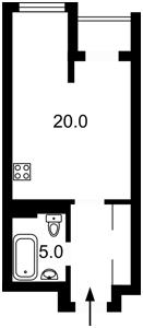 Квартира Рыбалко Маршала, 5б, Киев, Z-581179 - Фото2