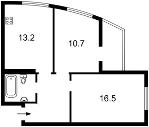 Квартира Обуховская, 139, Киев, Z-584284 - Фото2