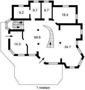 Дом Апрельская, Лычанка, P-26868 - Фото 3