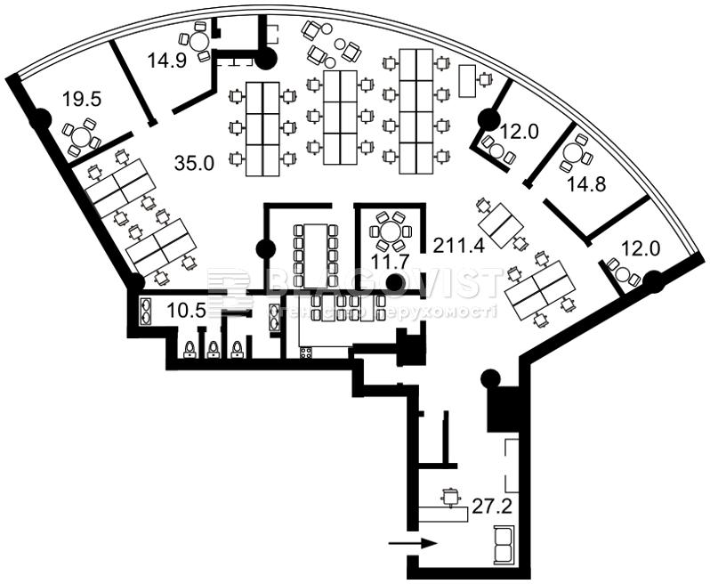 Бизнес-центр, D-25479, Болсуновская (Струтинского Сергея), Киев - Фото 6