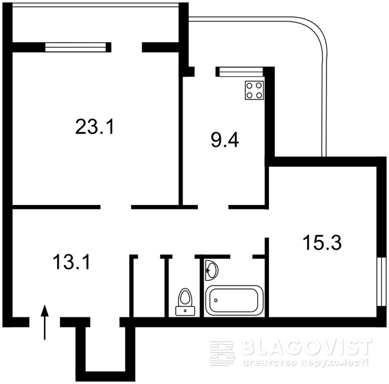 Квартира E-38926, Старонаводницкая, 8б, Киев - Фото 6