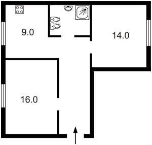 Квартира Прорізна (Центр), 6, Київ, Z-560874 - Фото2