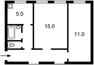 Квартира Прорізна (Центр), 22б, Київ, Z-551864 - Фото2