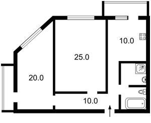 Квартира Дегтяревская, 25а, Киев, R-2368 - Фото2