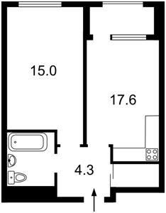Квартира Правды просп., 43, Киев, Z-587016 - Фото2