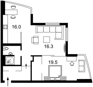 Квартира Голосіївська, 13а, Київ, J-10307 - Фото2