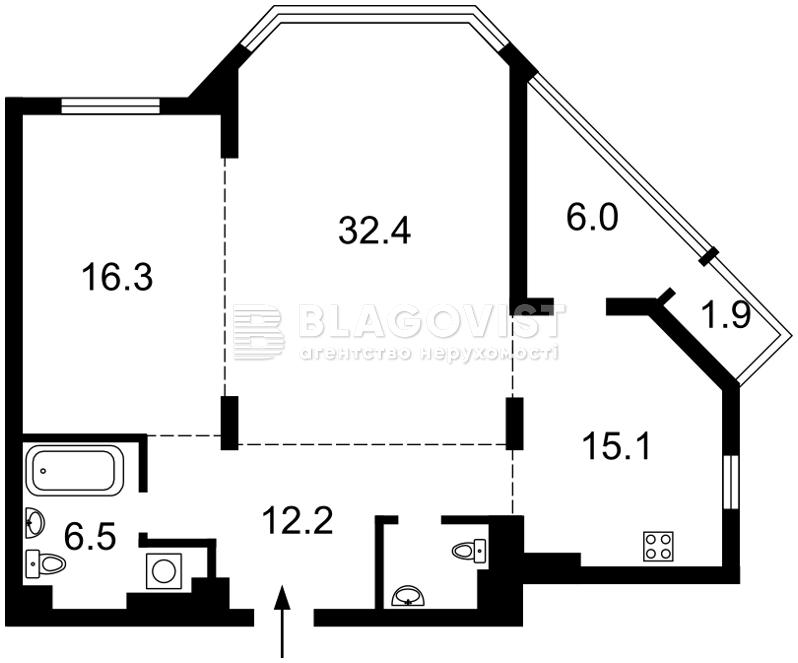 Квартира H-45515, Болсуновская (Струтинского Сергея), 2, Киев - Фото 9