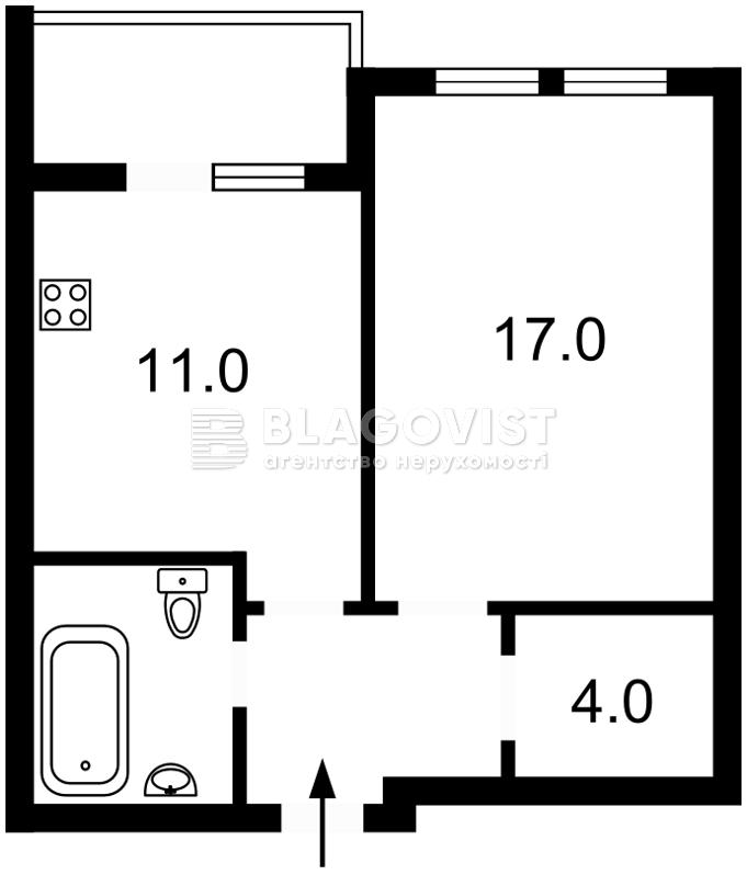 Квартира D-35638, Победы просп., 67в, Киев - Фото 2