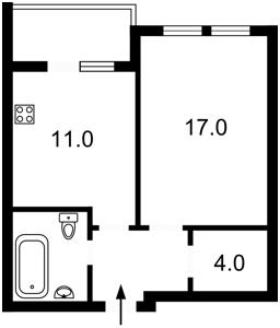 Квартира Победы просп., 67в, Киев, D-35638 - Фото 2