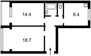 Квартира Оболонский просп., 15, Киев, Z-589775 - Фото2
