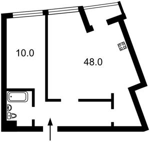 Квартира Героев Сталинграда просп., 2д, Киев, R-29772 - Фото2