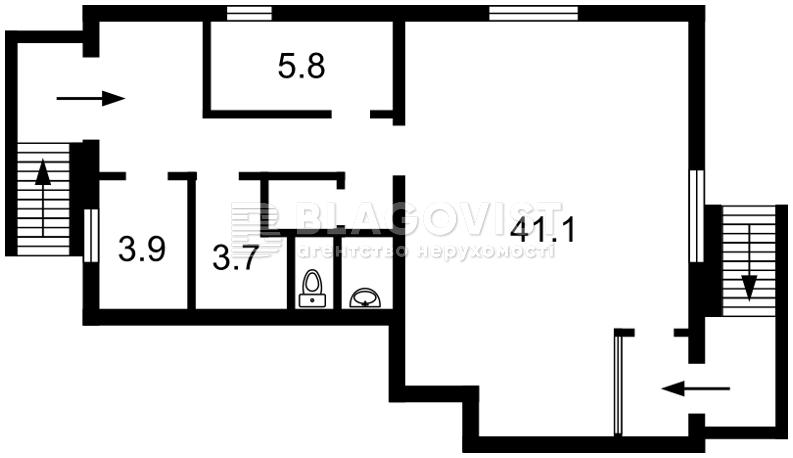 Нежилое помещение, H-45459, Ружинская (Пика Вильгельма), Киев - Фото 5