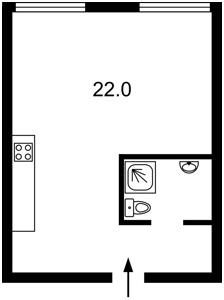 Квартира Регенераторна, 4 корпус 1, Київ, Z-591533 - Фото2