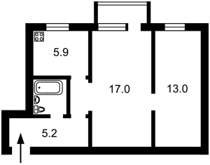 Квартира Победы просп., 9, Киев, Z-588789 - Фото2